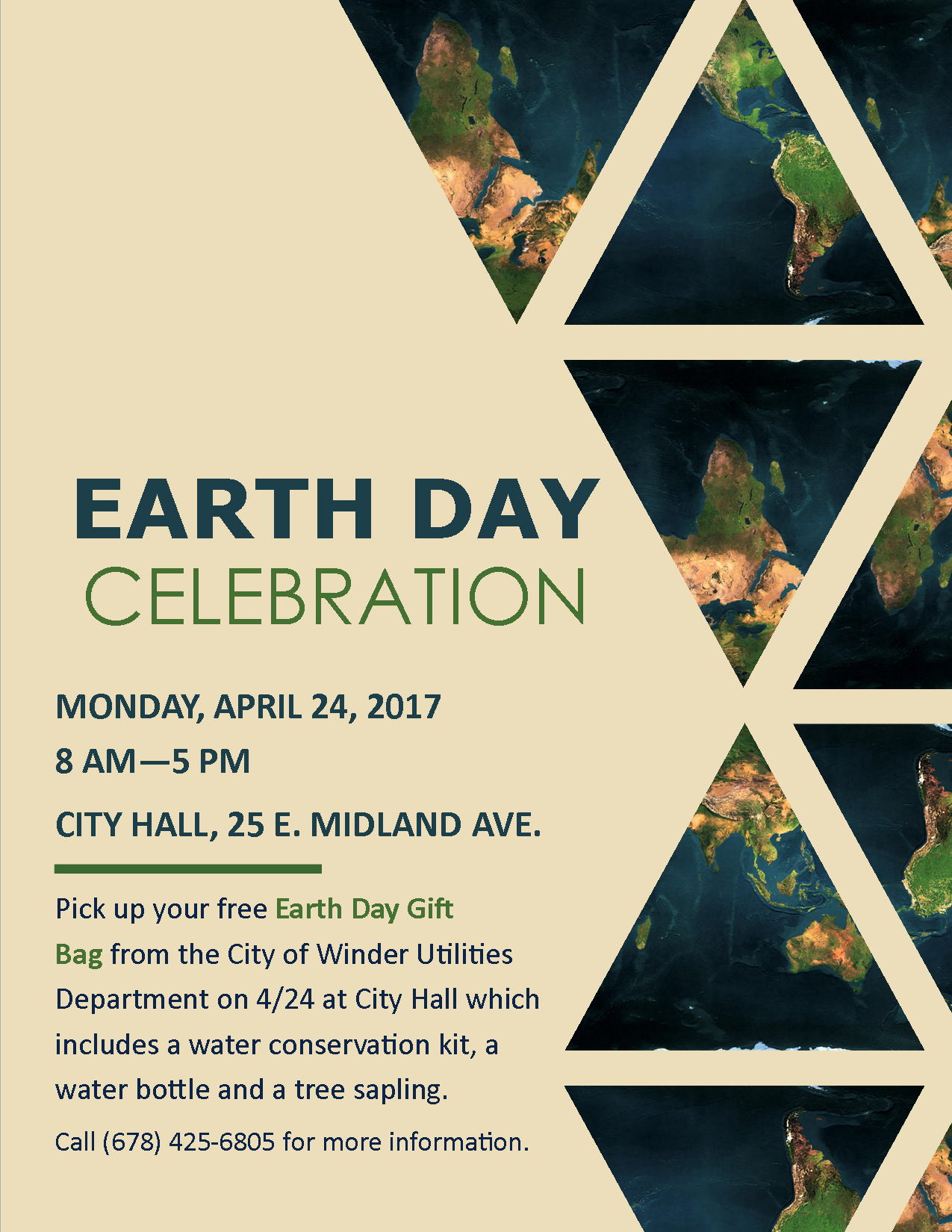 Earth Day Celebration 2017