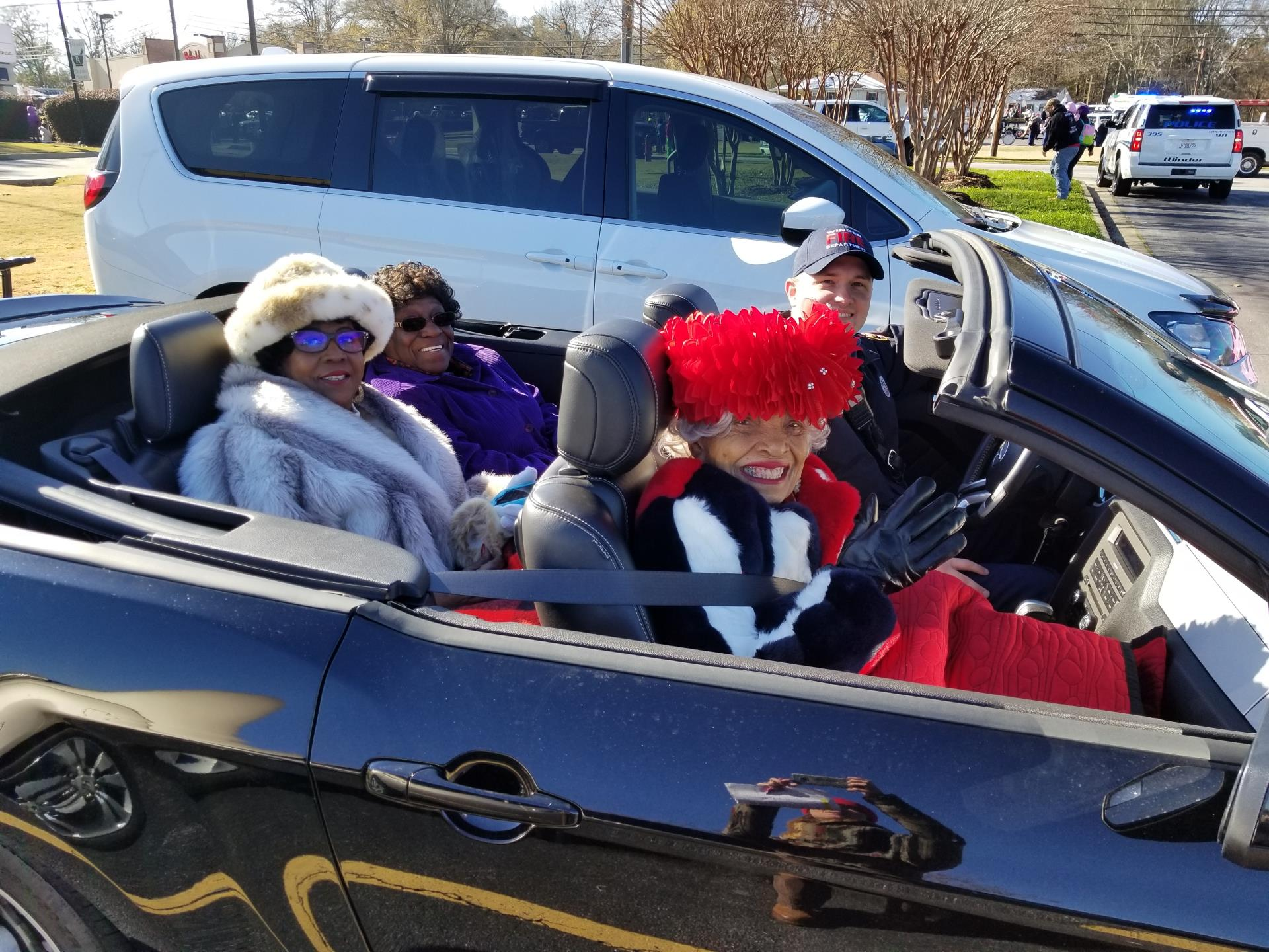Grand Marshal Mrs. Mary Ford Sims