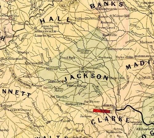 Historical Maps Winder GA - Ga maps