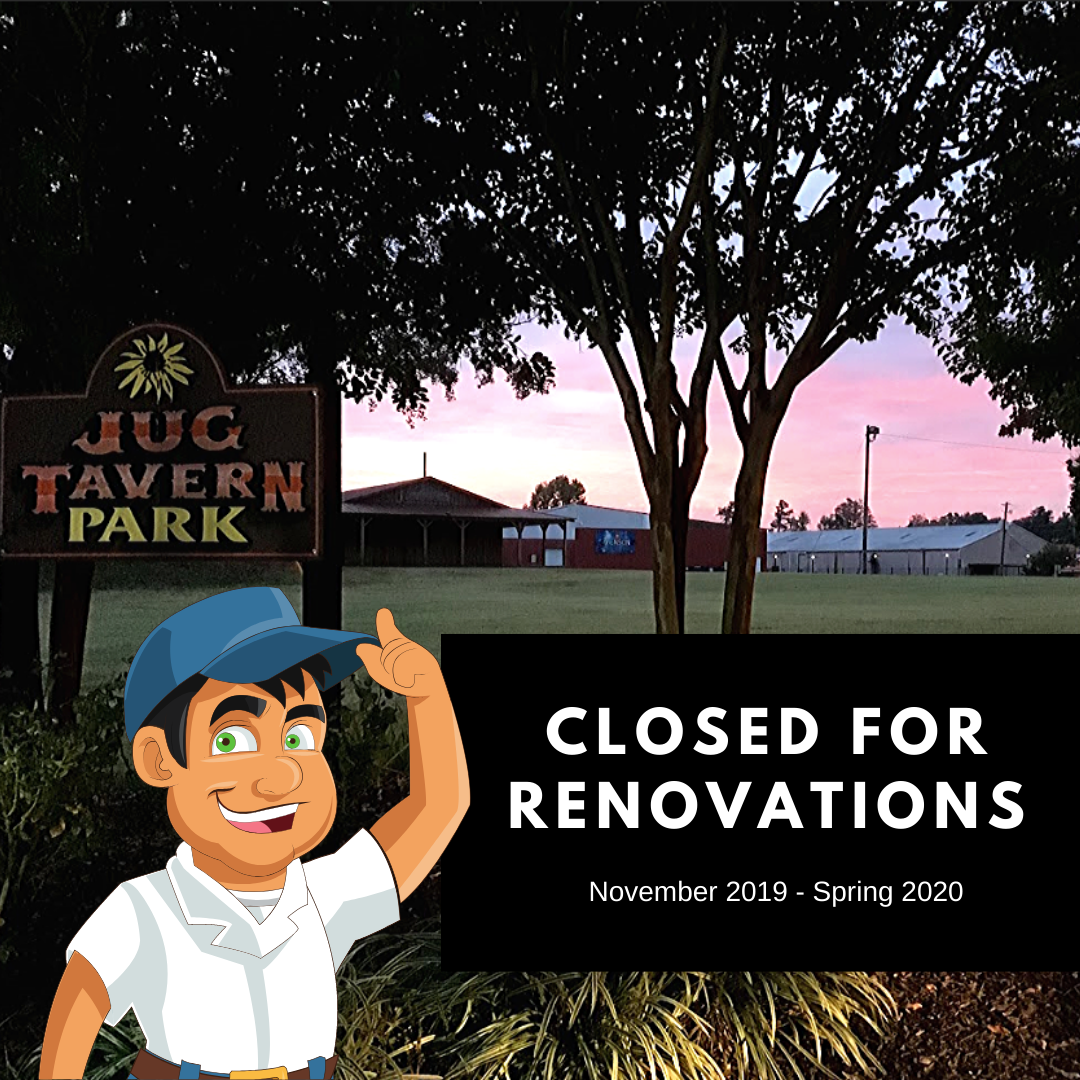 closed for renovations!