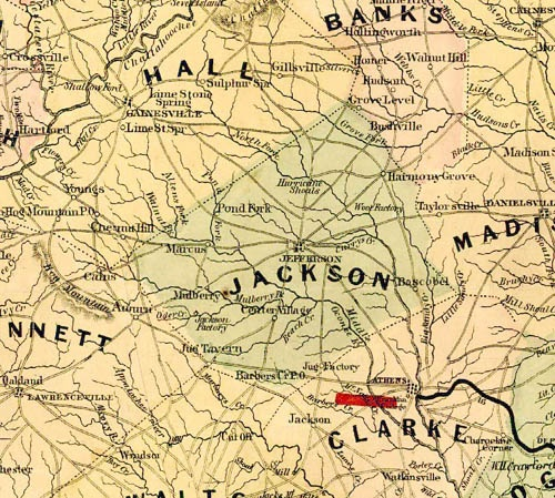 Historical Maps   Winder, GA